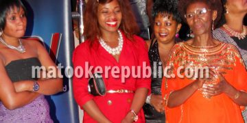 Milka Irene (left) who acts as Monica and Sara Kisauzi (right) who acts mum-in-law Nalweyiso.