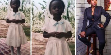 Kansiime then and now.