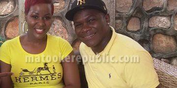 Luzinda and Pemba at Obama's in Kabalagala.