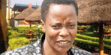 MP Betty Nambooze.