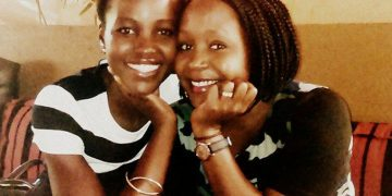 Lupita and Kansiime. The two met in April when Lupita was in Uganda to shoot the Queen of Katwe movie.
