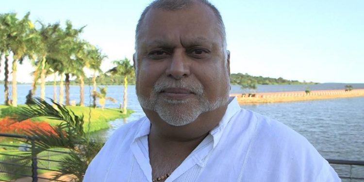 Tycoon Dr. Sudhir Ruparelia.