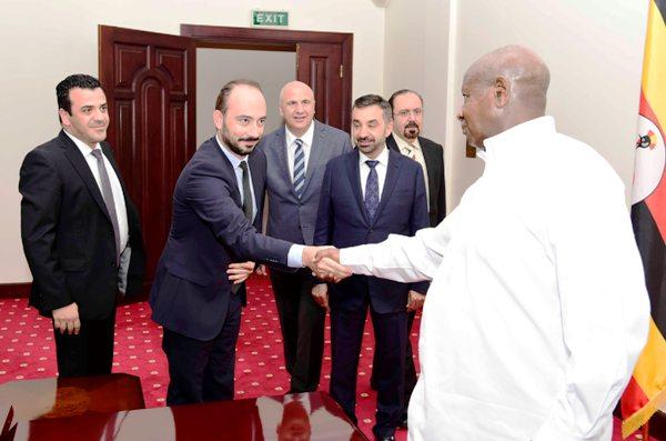 President Museveni meeting investors from UAE