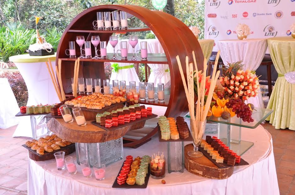 Dessert world at the Kampala Restaurant Week launch.
