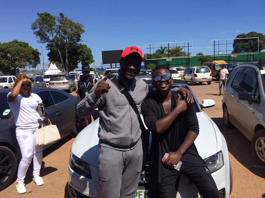 Pemba and ASFAs Brian Ahumuza.