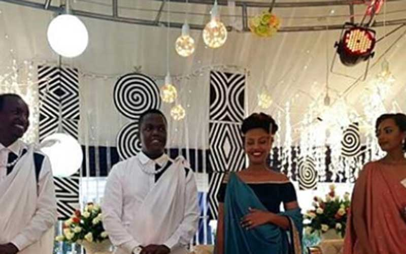 Legendary rapper AY finally walks down the aisle with hot