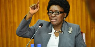 Speaker of Parliament Rt. Hon. Rebecca Kadaga.
