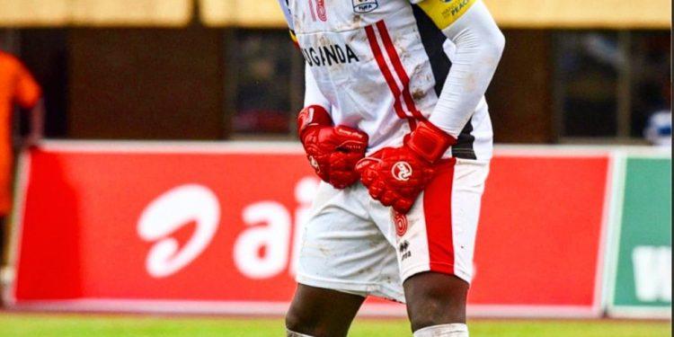 Uganda Cranes captain Dennis Onyango.