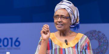 UNAIDS Executive Director Winnie Byanyima.