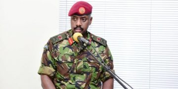 Lt. Gen. Muhoozi Kainerugaba, Presidential Advisor on Special Operations.