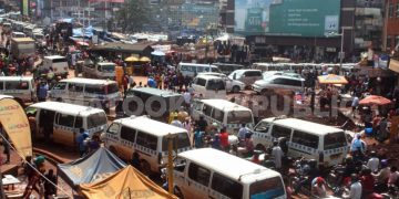 The junction at Ben Kiwanuka Street, Luwum Street and Namirembe rd. PHOTOS BY KASIGWA JOSEPH/Matooke Republic.