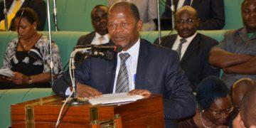 Minister of State for Higher Education John Chrysostom Muyingo.