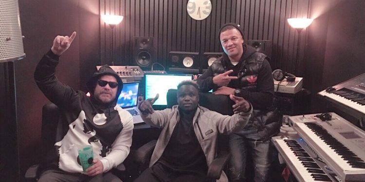 HerbertSkillz and Jethro Sheeran in Studio.