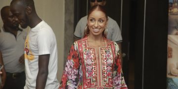 Mya's smile is as beautiful as her music. PHOTOS BY KALEMA EDWARD/Matooke Republic.