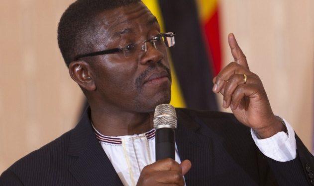 Katikkiro of Buganda, Charles Peter Mayiga.