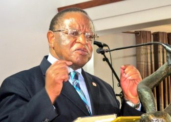 Makerere University Chancellor Prof Ezra Suruma