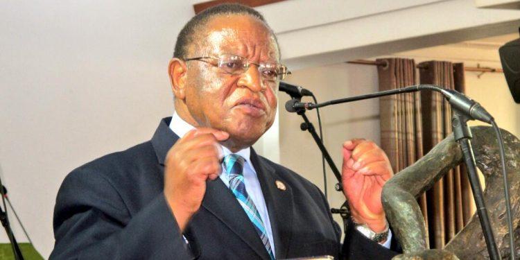 Makerere University Chancellor Prof Ezra Suruma