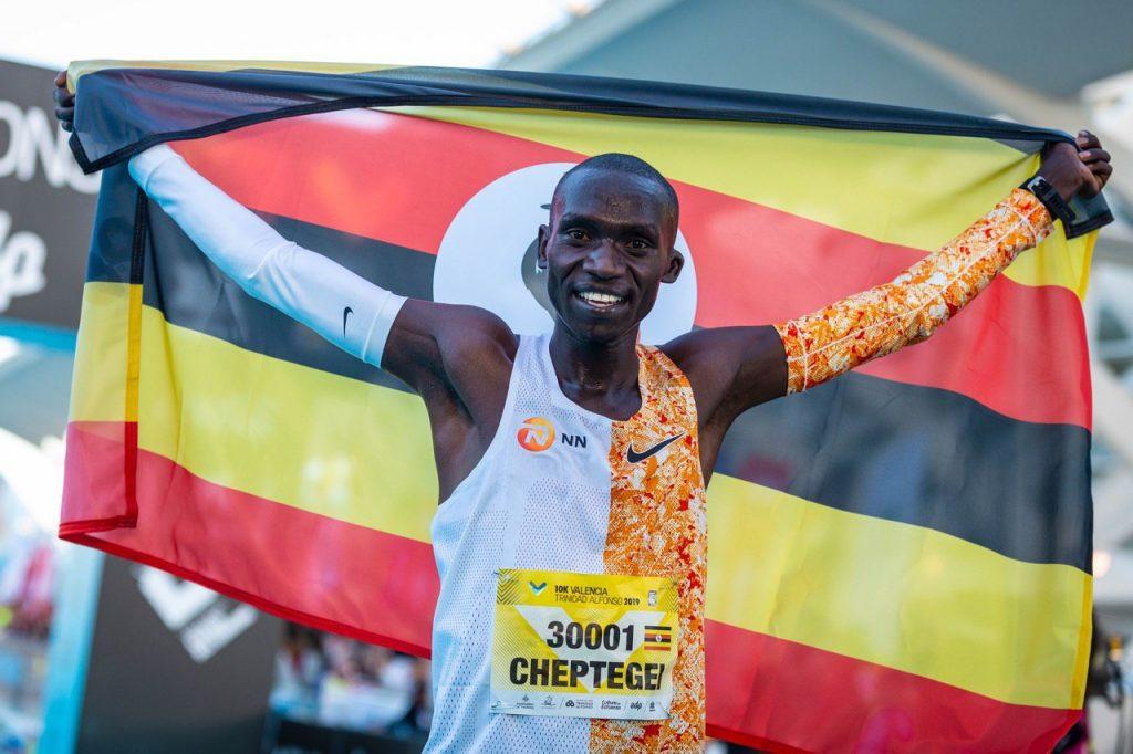 Joshua Cheptegei in Valencia