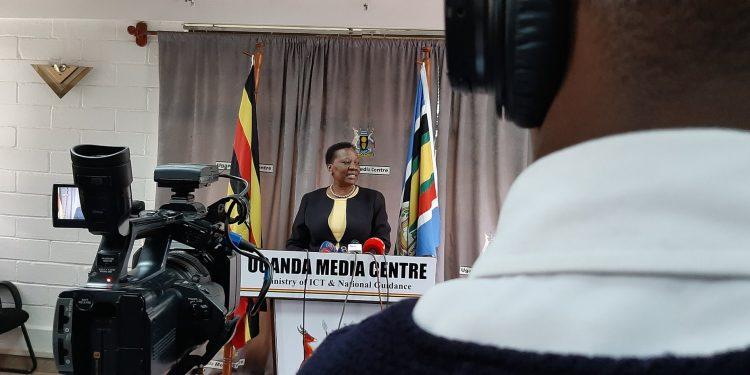 Energy Minister Irene Muloni