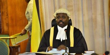 Deputy Speaker of Parliament Jacob Oulanyah.