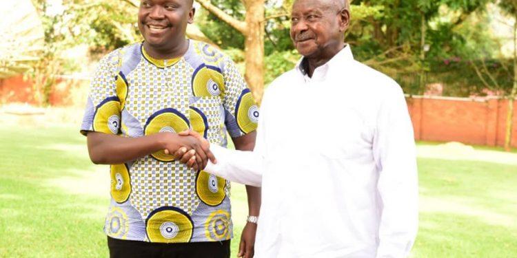 Patrick Salvado meets Museveni