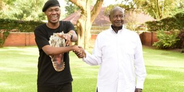 Big Eye meets Museveni