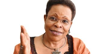 Newly-appointed Minister for for Lands, Housing and Urban Development, Hon. Beti Kamya.