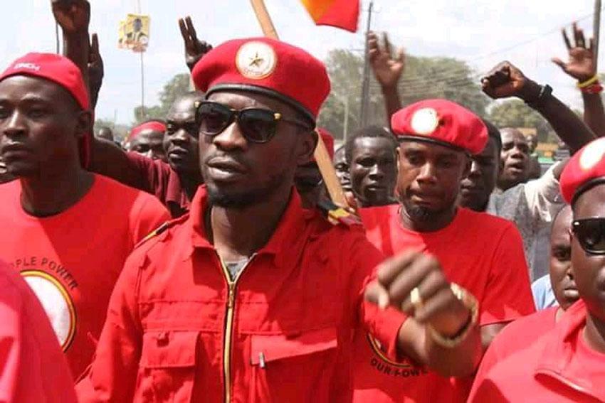 Bobi Wine arrested