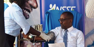 NSSF Blood drive