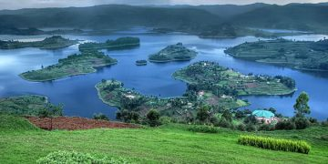 Lake Bunyonyi in South Western Uganda is a thing of beauty.