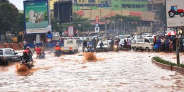 When it rains, Kampala becomes water-logged. COURTESY PHOTO.