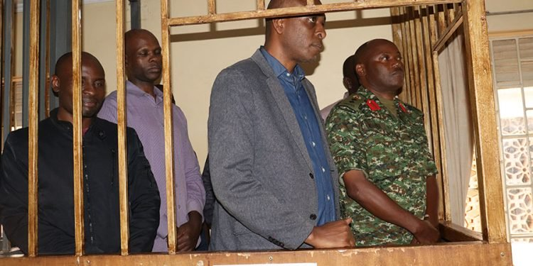 Herbert Muhangi in the dock. COURTESY PHOTO.