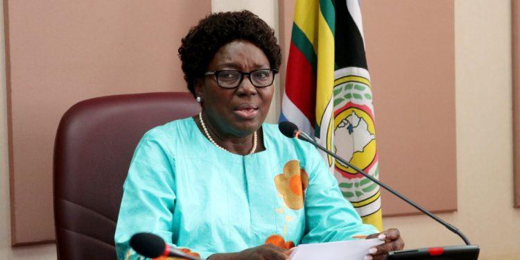 Speaker of Parliament Rt. Hon. Rebecca Kadaga.