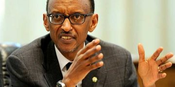 Rwanda President, H.E Paul Kagame.