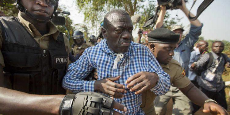 FDC's Dr Kizza Besigye. COURTESY PHOTO.