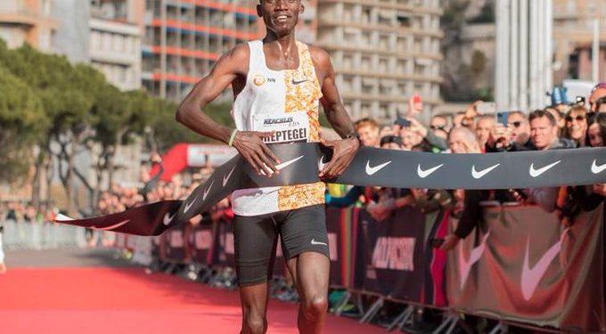 Joshua Cheptegei won Gold yesterday and set a new World Record in Monaco.