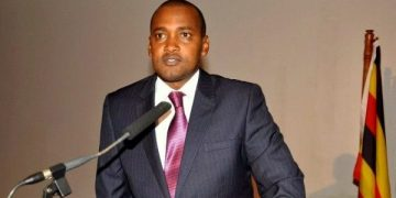 Frank Tumwebaze, Minister of Gender, Labour, Social Development.