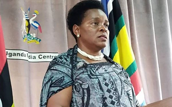 Minister of Gender and Culture Peace Mutuuzo