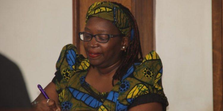 Dr Stella Nyanzi.