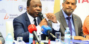 French Ambassador to Uganda H.E. Jules-Armand Aniambossou. PHOTOS BY ASIIMWE VINCENT SMOKY/Matooke Republic.