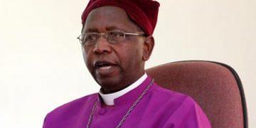 Outgoing Archbishop of  Uganda Stanley Ntagali.