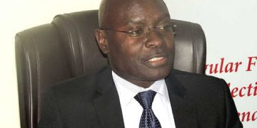 Electoral Commission Chairman Justice Simon Byabakama.