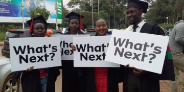 Graduates recently asked 'What's next?'