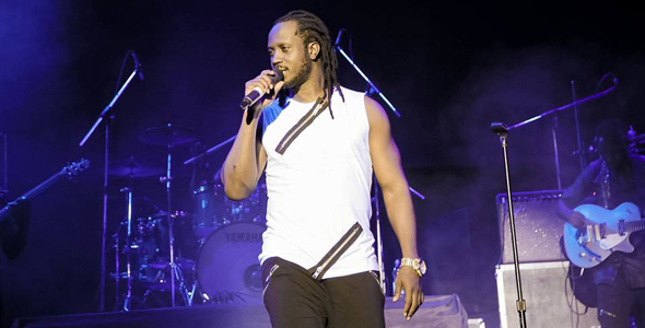 Bebe Cool was pelted with plastic bottles last Saturday. Big Eye, Full Figure, and Fresh Daddy have been victims of this growing vice. COURTESY PHOTO.
