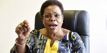 Minister for Lands, Housing and Urban Development, Hon. Beti Kamya.