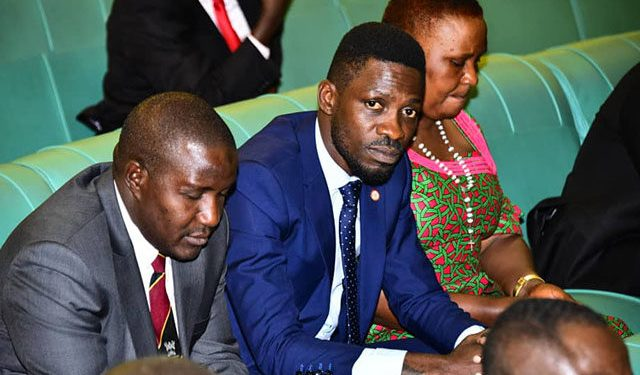 Kyadondo East MP Robert Kyagulanyi aka Bobi Wine.