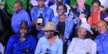 Golfers rocking denim outfits at last year's edition. PHOTOS BY ASIIMWE VINCENT SMOKY/Matooke Republic.