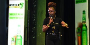 Anne Kansiime. PHOTO BY ASIIMWE VINCENT SMOKY/Matooke Republic.