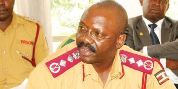 Commissioner General of Prisons, Dr Johnson Byabashaija.