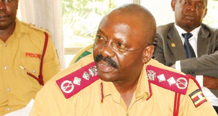 Commissioner General of Prisons, Dr Johnson Byabashaija.